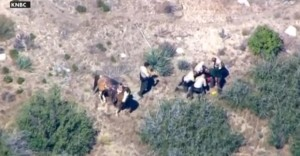 Francis Pusok being beaten by sheriff's deputies near San Bernadino, CA
