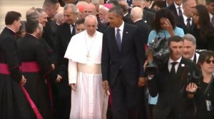 Pope Francis arriving in US - CBS News