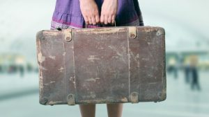 Woman-with-emotional-baggage